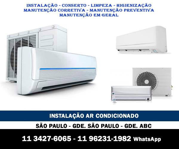 Instalação ar-condicionado São Paulo